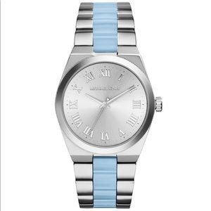 Michael Kors Channing 2 Tone Stainless Steel Watch